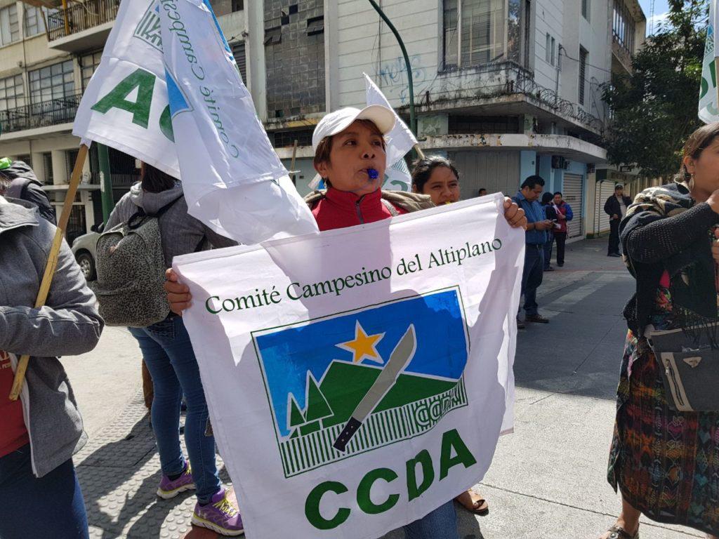 CCDA lamenta el poco interés del gobierno para resolver la conflictividad agraria