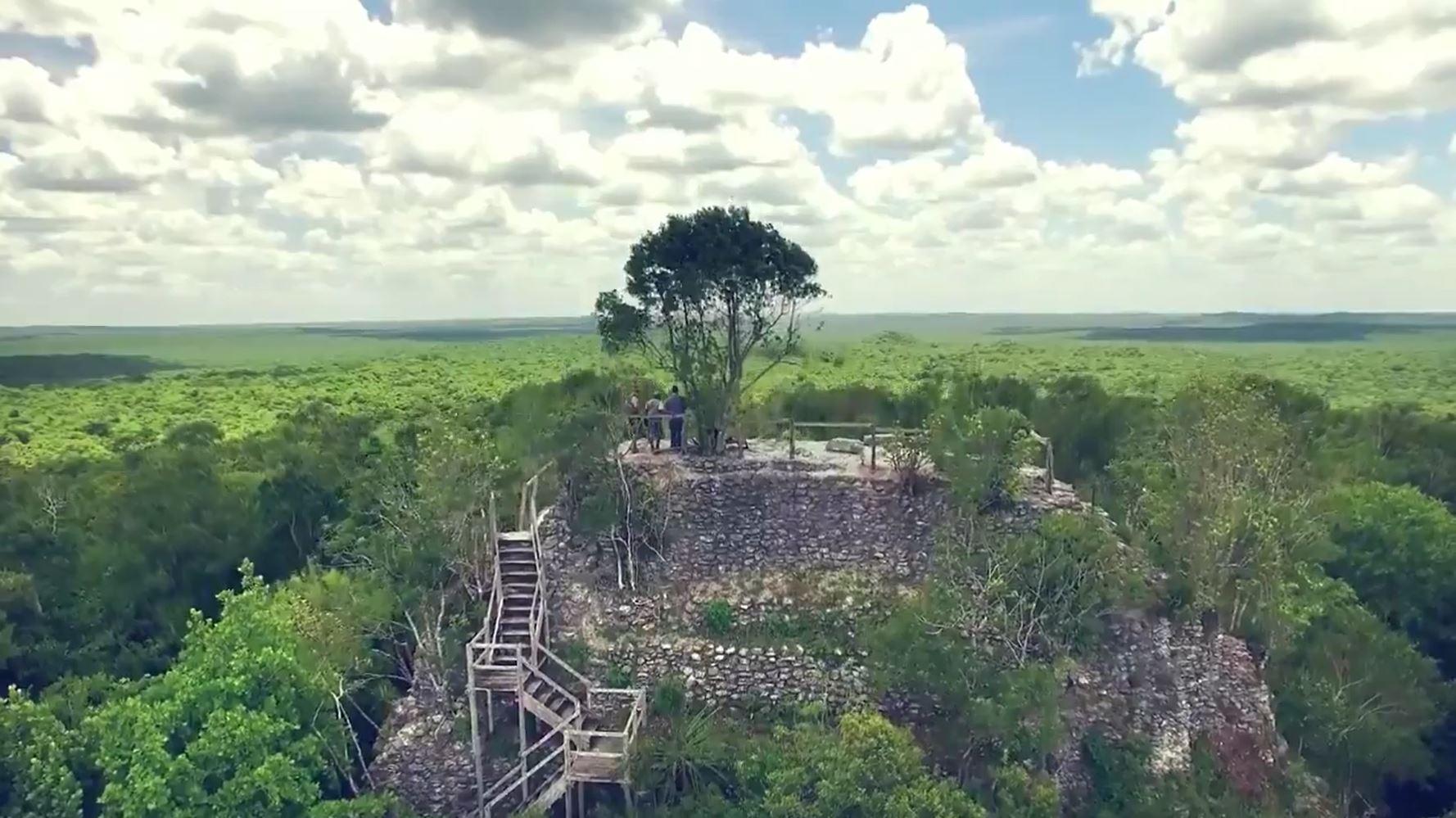 Rechazan intenciones de hacer negocios con sitio arqueológico El Mirador