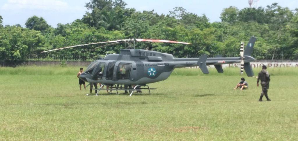 Estado de sitio y el helicóptero que lo advirtió