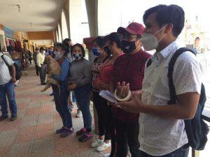 Giammattei Falla se niega a dialogar con la juventud de Comalapa
