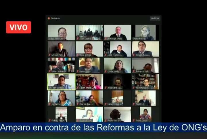 Organizaciones piden sea suspendida definitivamente las reformas a la ley de ONG's