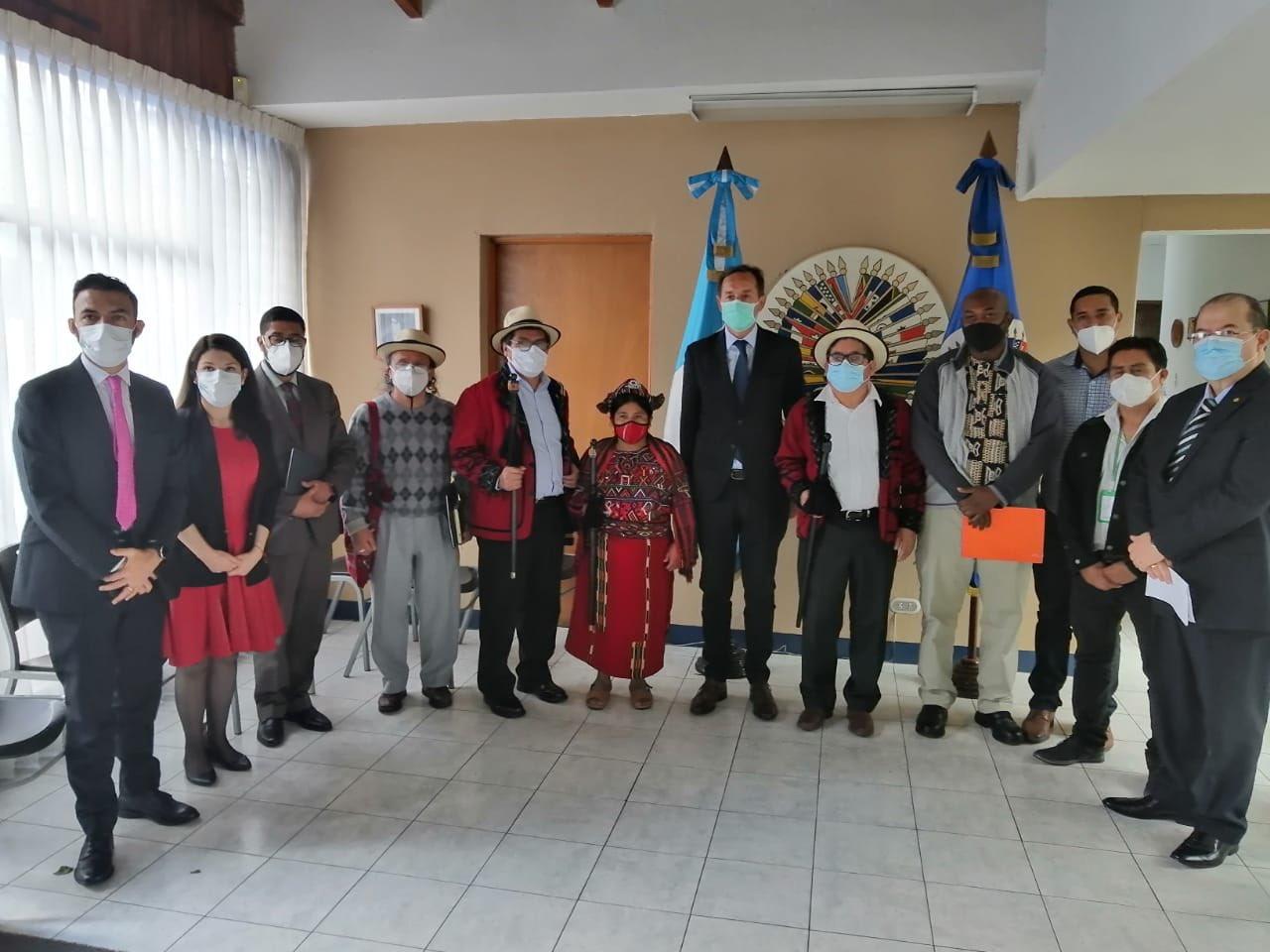 Autoridades indígenas piden a OEA recomendar la renuncia de Giammattei y Junta Directiva del Congreso