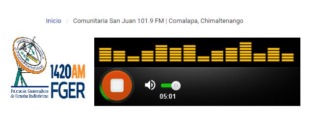 Comunitaria San Juan lanza señal internacional