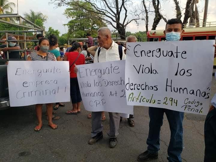 Comunidades denuncian violación de acceso al agua por falta de energía eléctrica en la Costa Sur