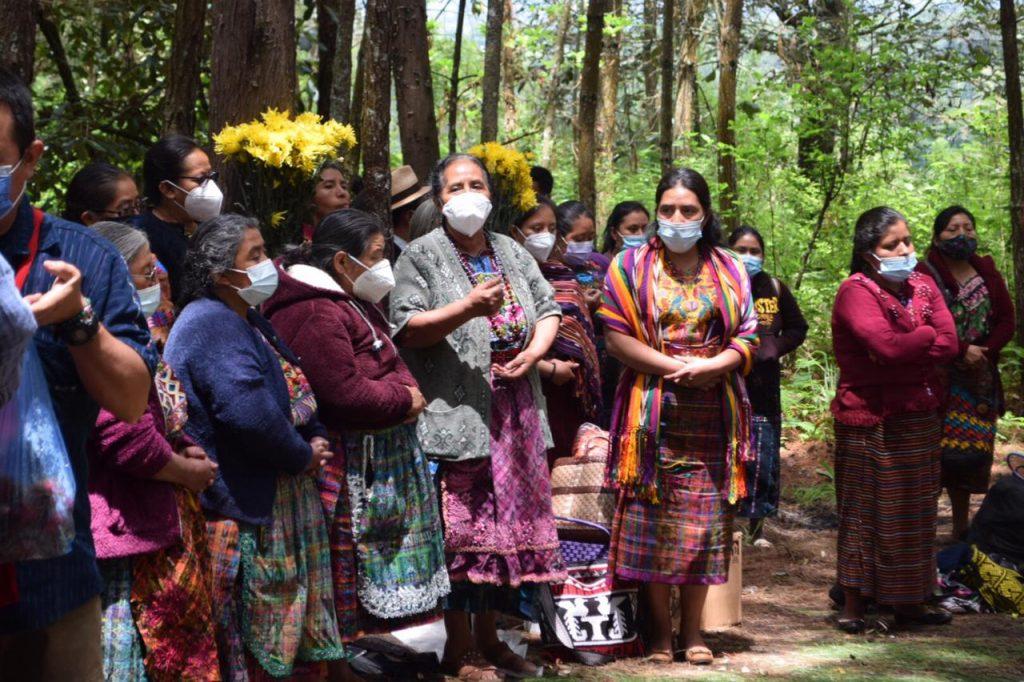 Se conmemoran tres años del retorno de las víctimas de San Juan Comalapa