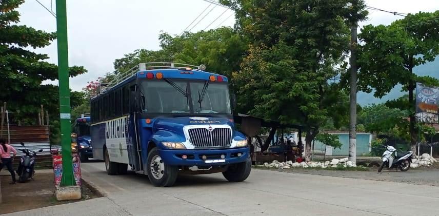 Operativo policial partió de Río Dulce