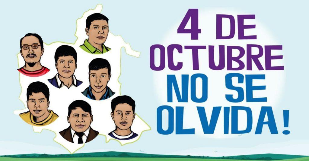 Los responsables de la masacre del 4 de octubre serán juzgados por ejecución extrajudicial