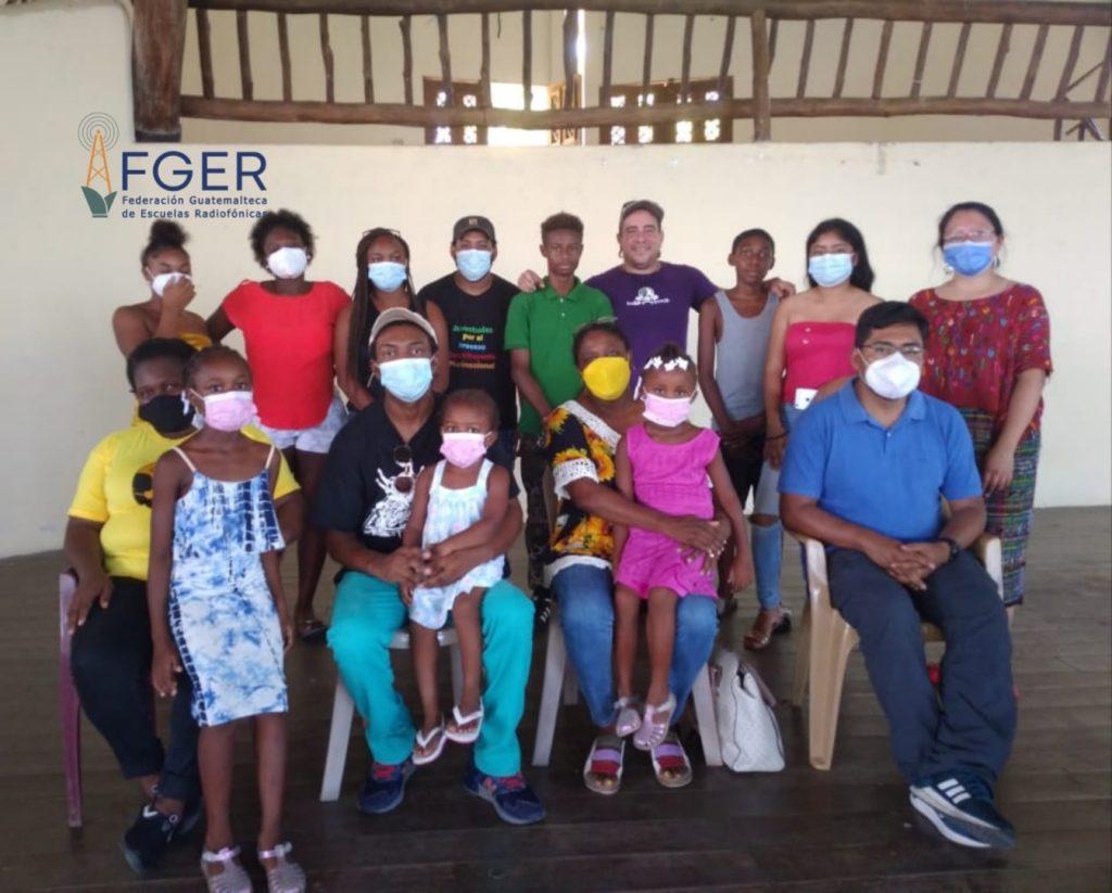 Inicia instalación de radio comunitaria del Pueblo Garífuna