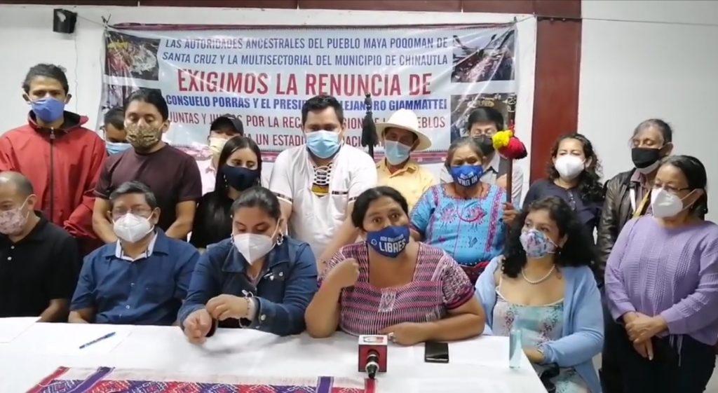 Dos días de manifestaciones pacíficas en rechazo al bicentenario