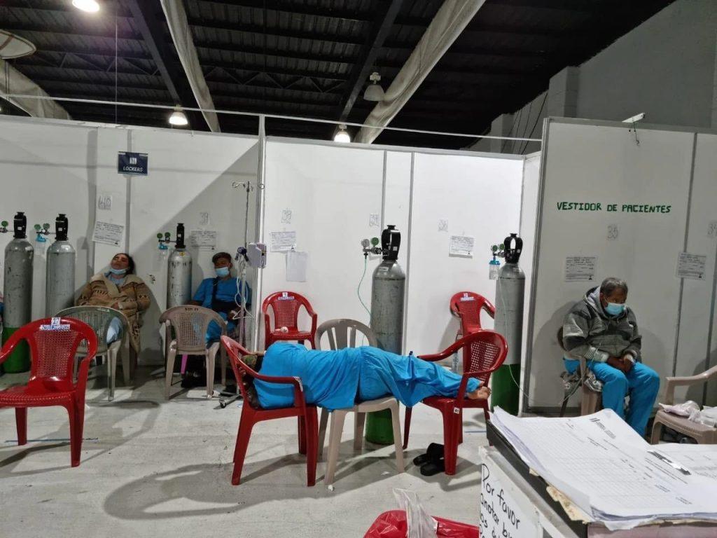Hospital Temporal Parque de la Industria: Del milagro al abandono