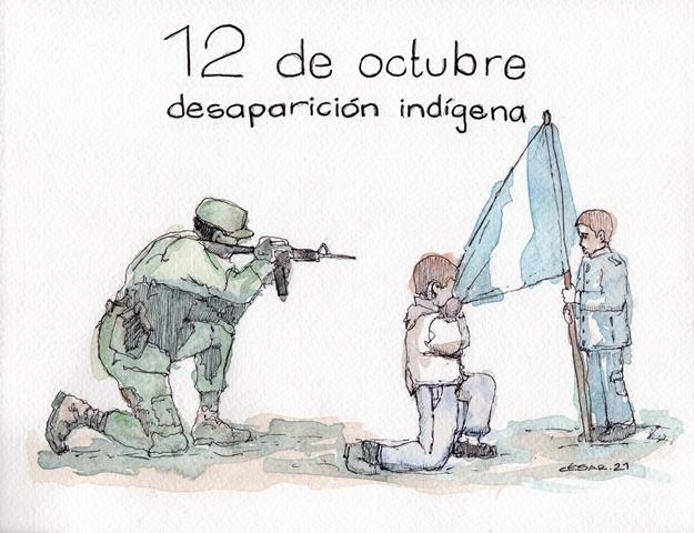 Desaparición indígena