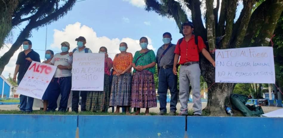 """""""Nuestra solidaridad ante los actos de violencia y represión del estado"""""""